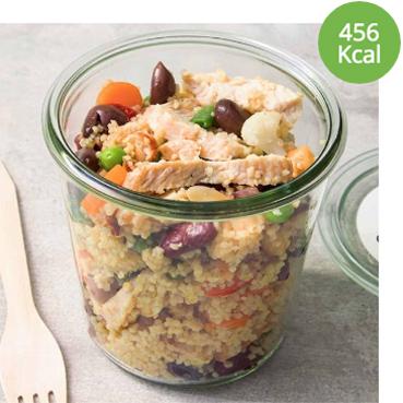 pausa pranzo leggera, sana e gustosa